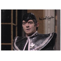 Doctor Who  Michael Jayston Photo Signed