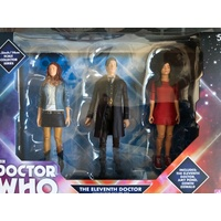 Doctor Who - Eleventh Doctor Amy Pond & Oswin Action Figure 3-pack Version 1