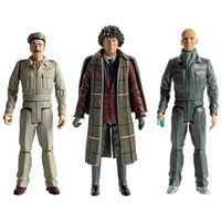 Doctor Who - Fourth Doctor Brigadier Lethbridge Stewart & Auton Action Figure 3 pack