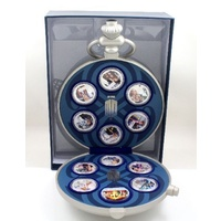 Dr Who 50th Anniversary Silver Coin Set